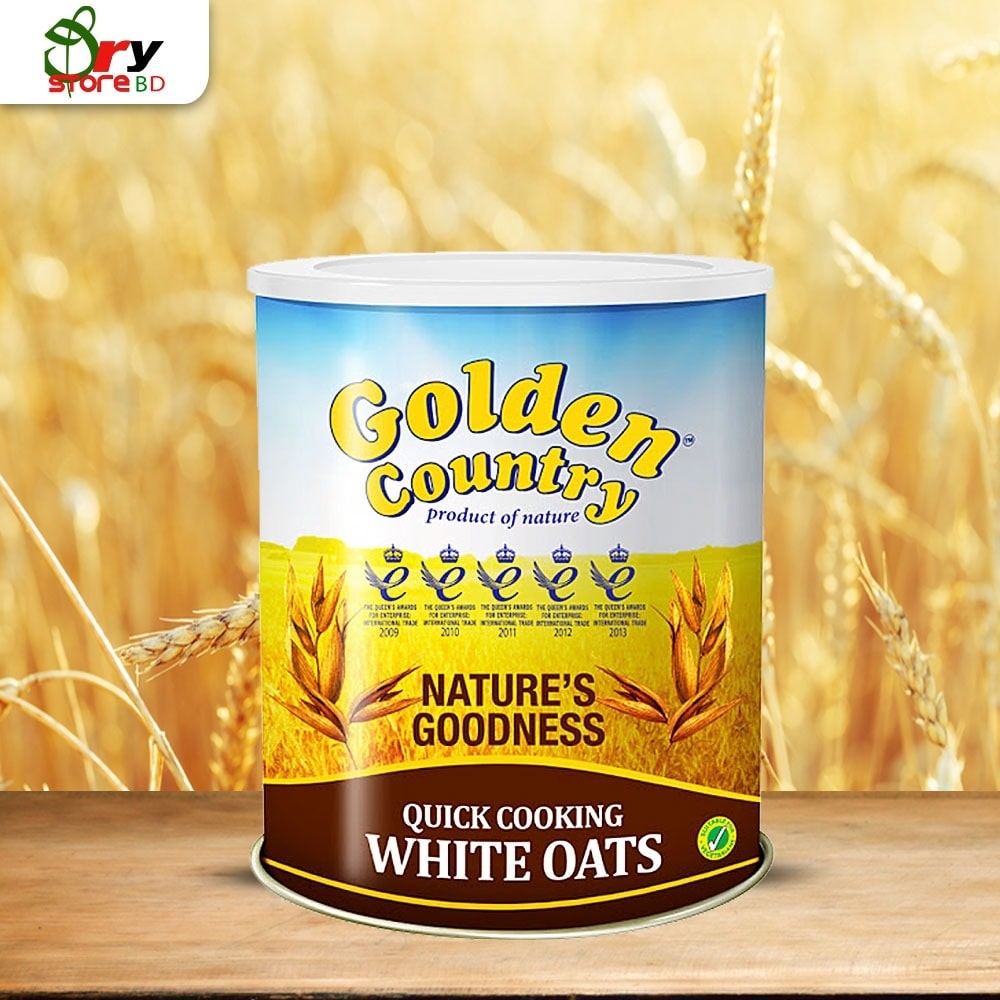 Golden Country White Oats-500g  - Bponi