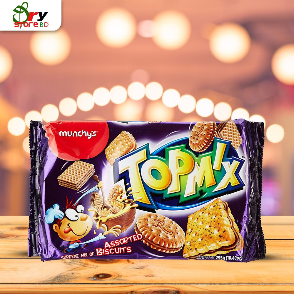 Munchy's Topmix Assorted Biscuits 295 gm - Bponi