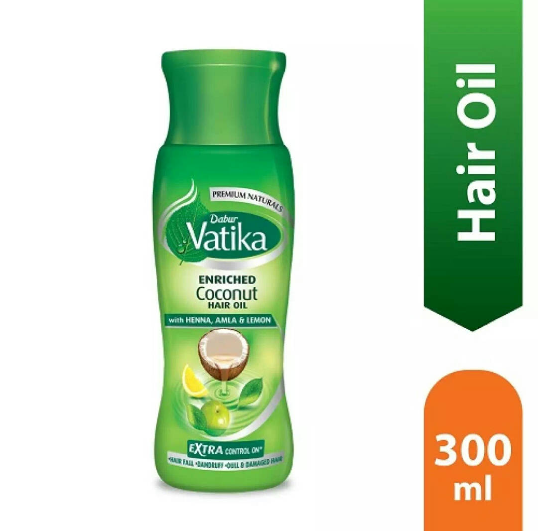 Dabur Vatika Enriched Coconut Hair Oil - 300ml - Bponi