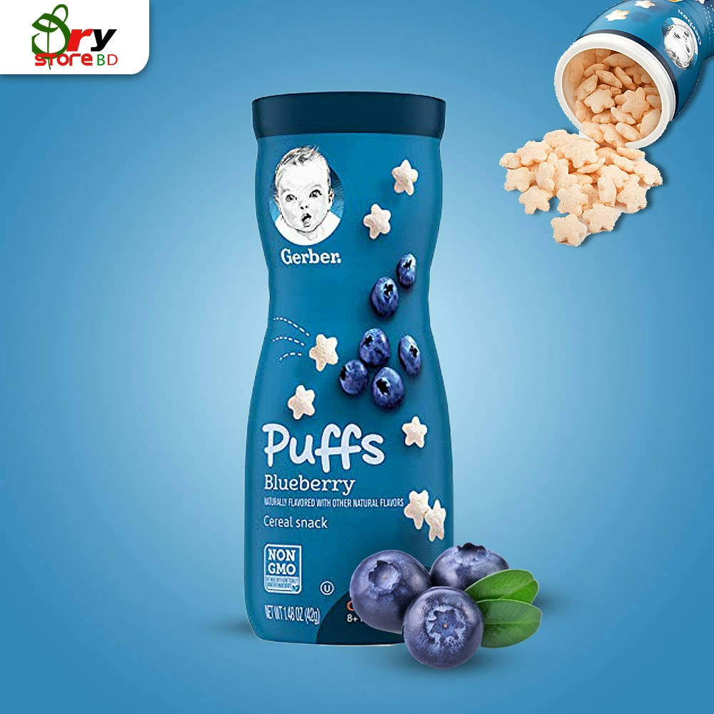 Puffs Blueberry -42gm. - Bponi