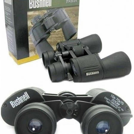 Bushnell Binocular Zoom 10x70 optical Zoom cable length: 1.2 M Cable type: Flat / Anti tangle design - Bponi