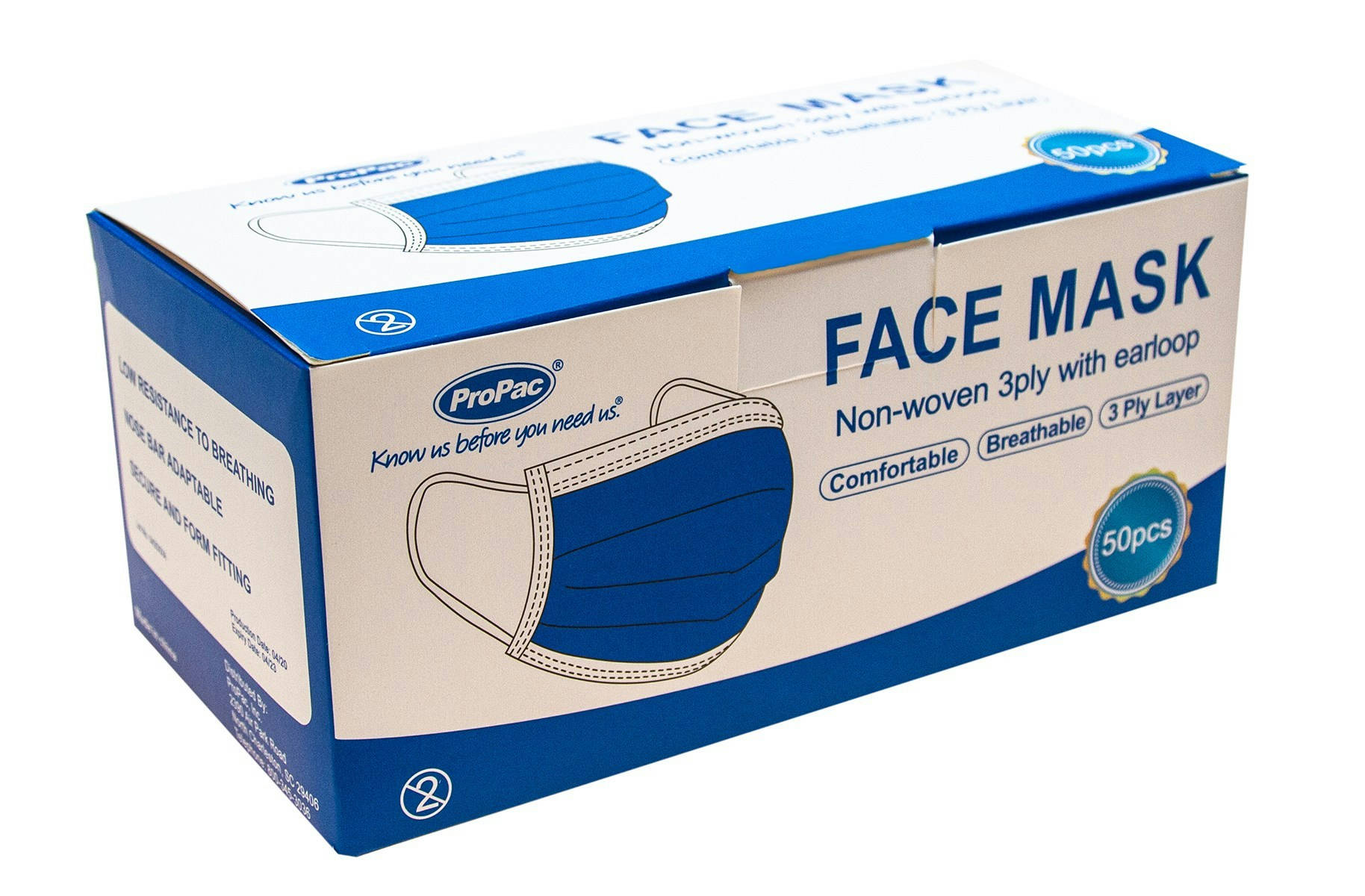 Bponi - FACE MASK – only  BOX