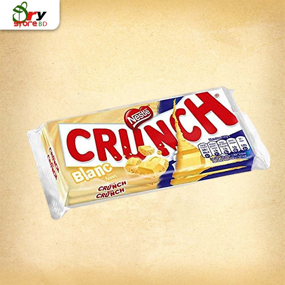 Nestle Crunch Milk Chocolate 100g  - Bponi