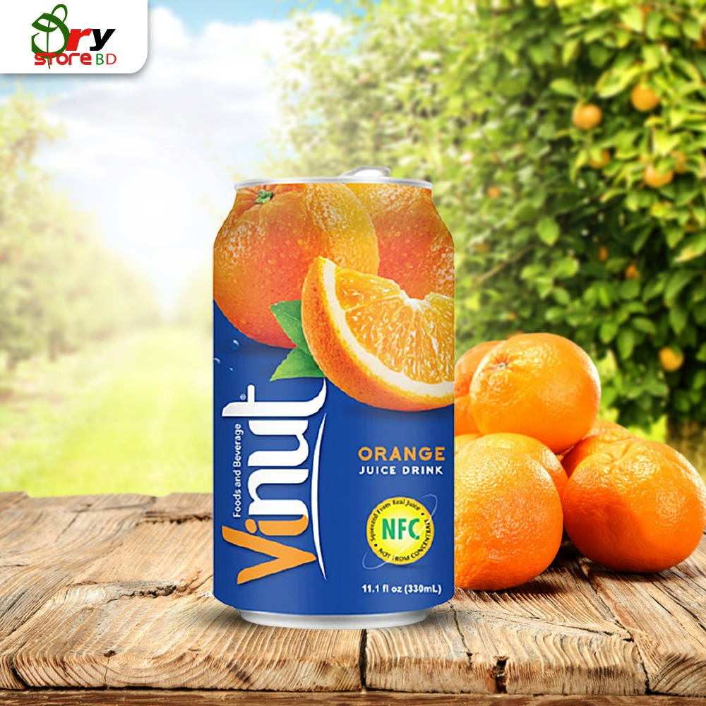 VINUT Fruit Juice Orange Juice Drink - 300 ml. - Bponi