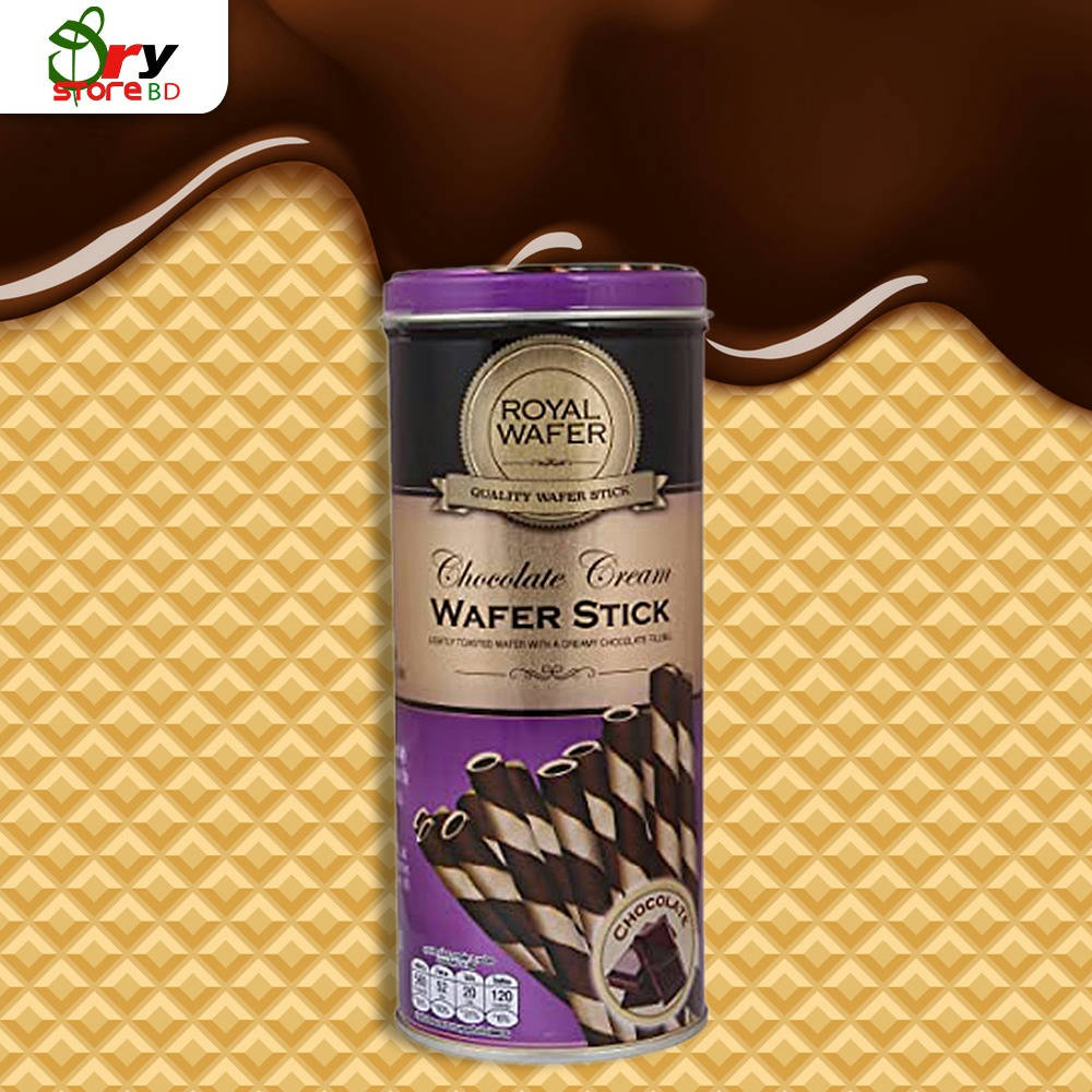 Vfoods Royal Wafer Stick Chocolate - 125g. - Bponi