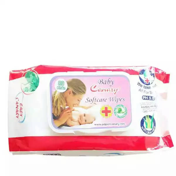 Bponi | Cannary Baby Wet Wipes With Cap