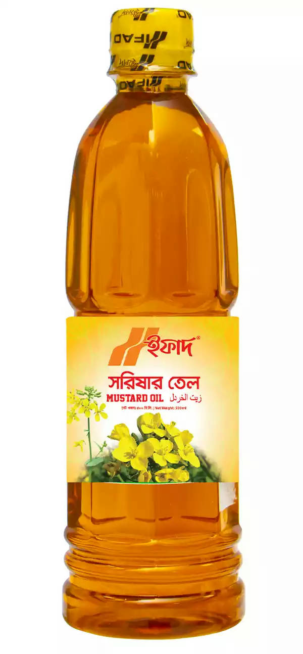 IFAD Mustard Oil 500 ml - Bponi