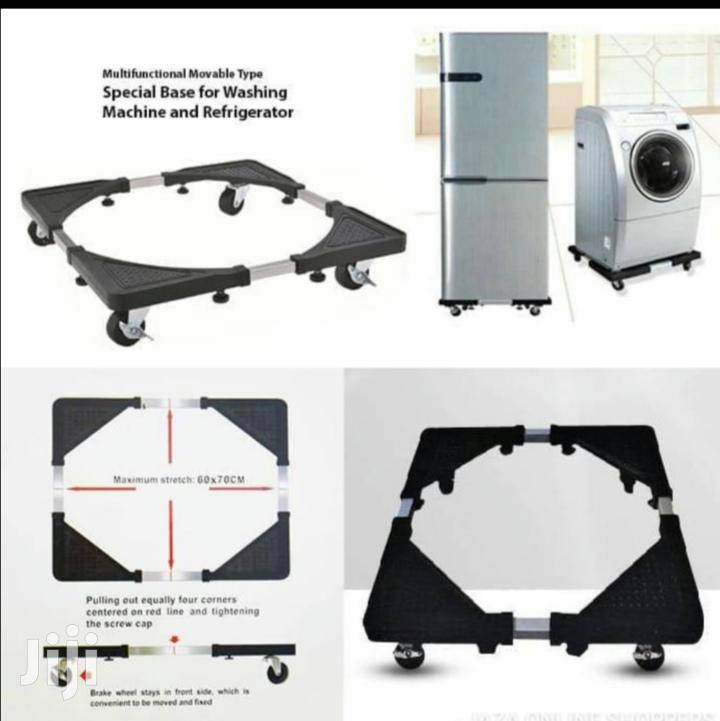 Movable Special Base For Washing Machine, Refrigerator Trolley Stand Load 300kg Heavy Duty - Bponi