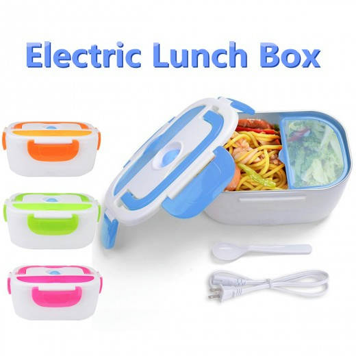 Lunch Heater Lunch Warmer Portable Food Heater with Stainless Steel Bowls for Home Office School Campsite Use - Bponi