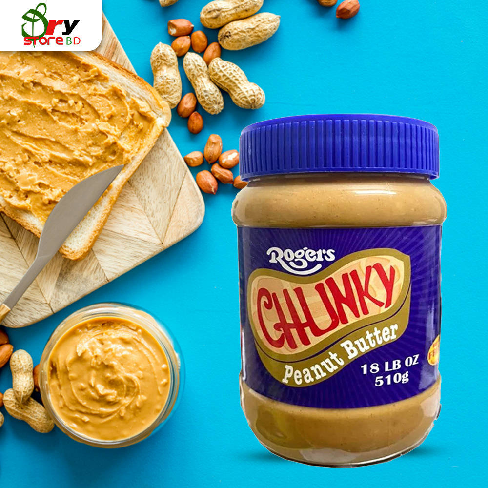 Rogers Chunky Peanut Butter - 510g. - Bponi