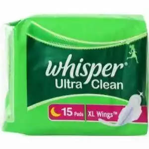 Bponi | AF3 Whisper Ultra Clean XL Wings 15 Pads