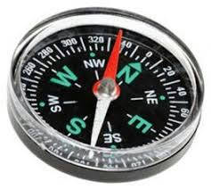 "Stainless Steel Magnetic Compass, Packaging Type: Box, Size/Diameter: Approx 2.5"" - Bponi"