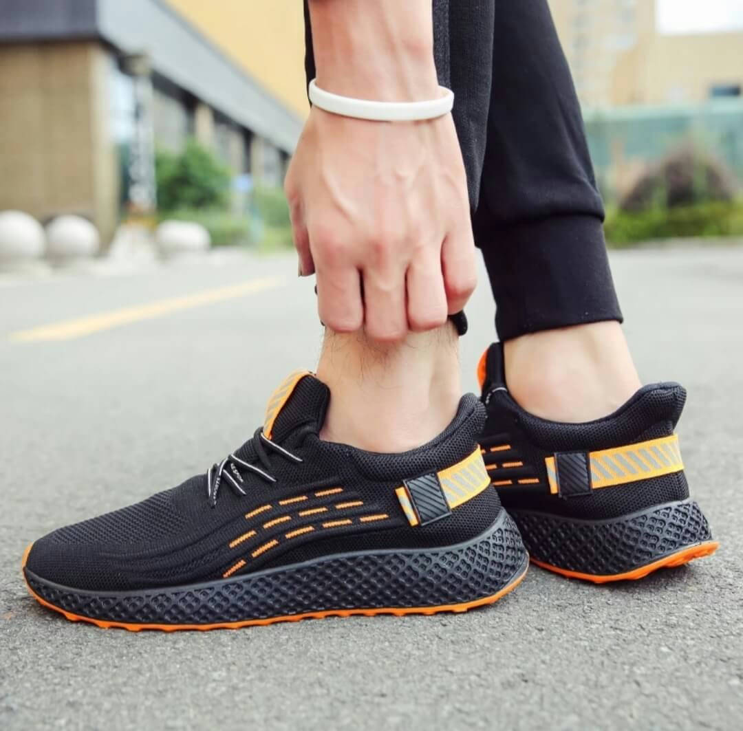 Sneakers Shoes for Men Casual Running Sports Shoes Breathable Cushion OEM Fly-Knit 2021 - Bponi