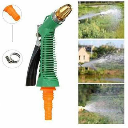 Bponi | Water Spray Gun For Car Bike Wash, High Pressure Water Spray Gun With Nozzle and Connector
