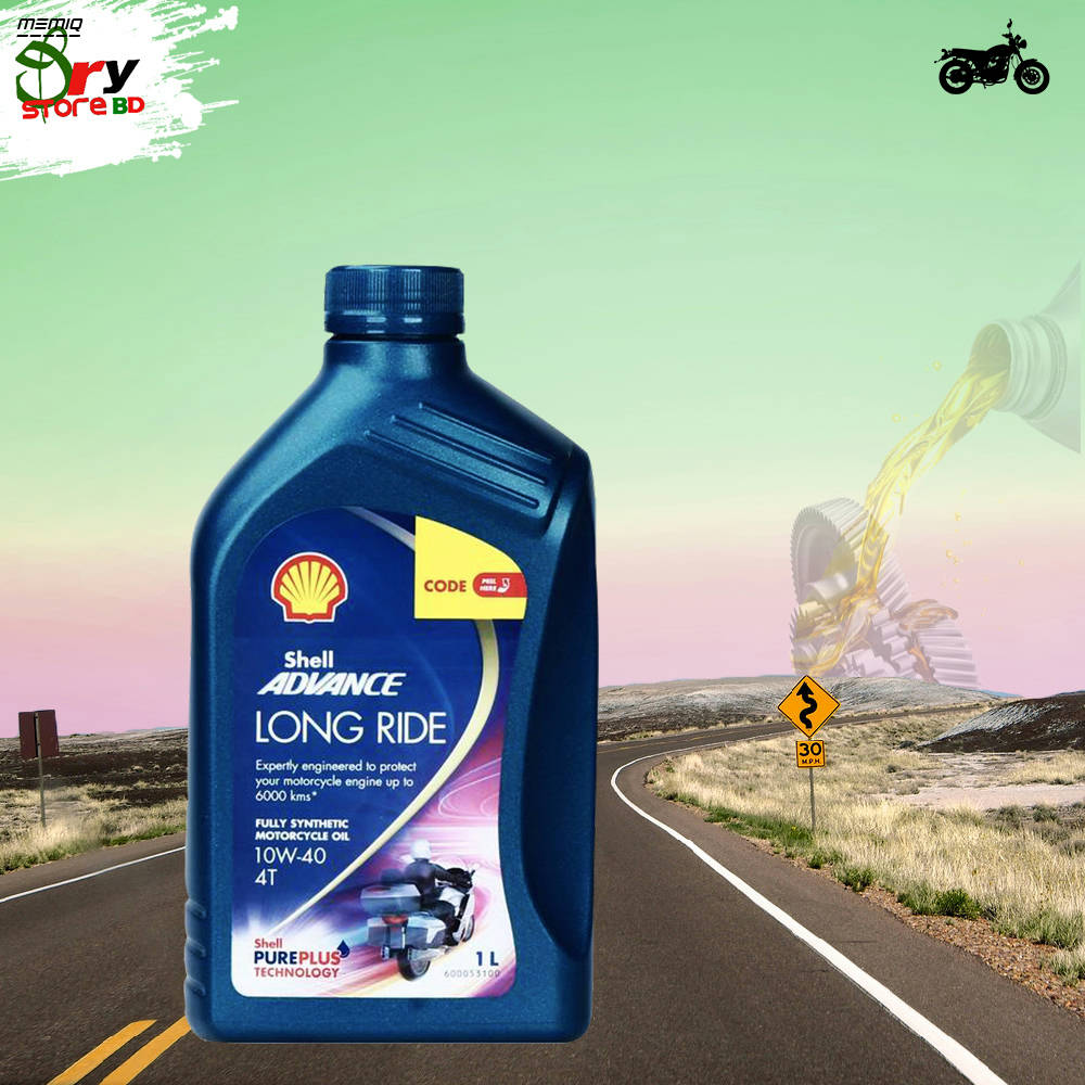 Bponi | SHELL ADVANCE LONG RIDE 10W-40 FULL SYNTHETIC