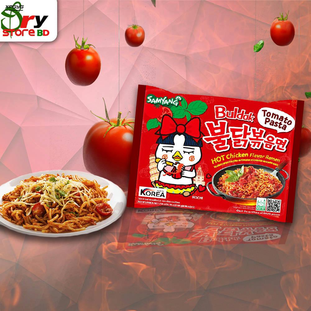 Bponi   Samyang Tomato Pasta Hot Chiken Flavor Ramen