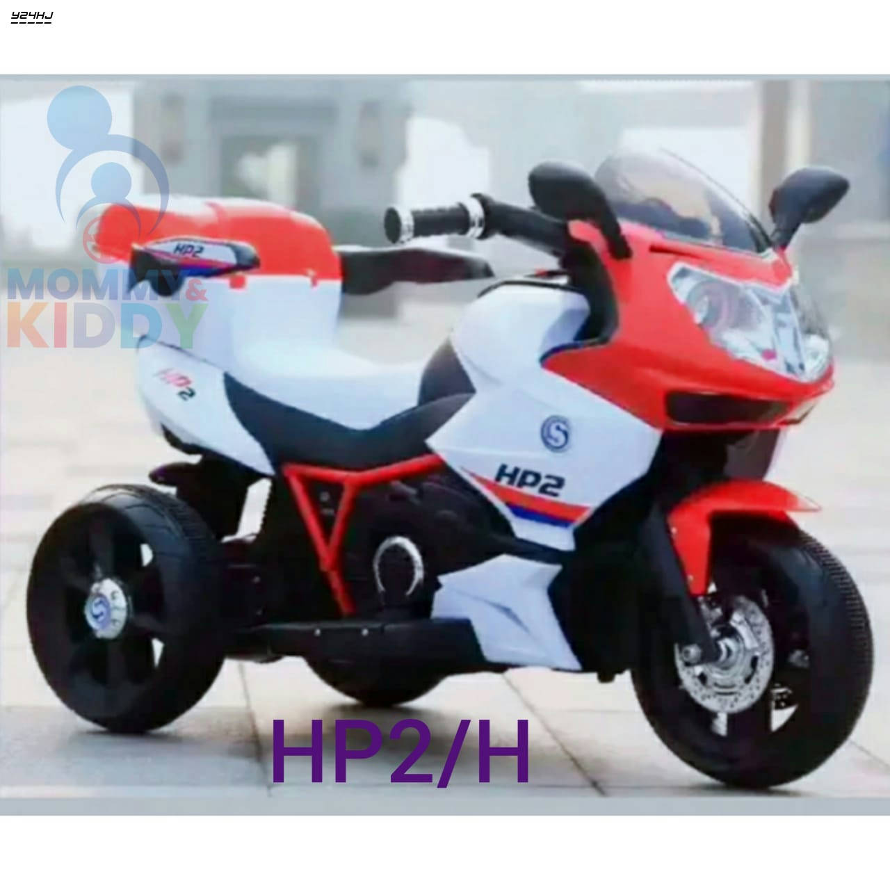 Bponi | KIDS Ride On Bike  HP2/H for Kids – 2 to 8 Years