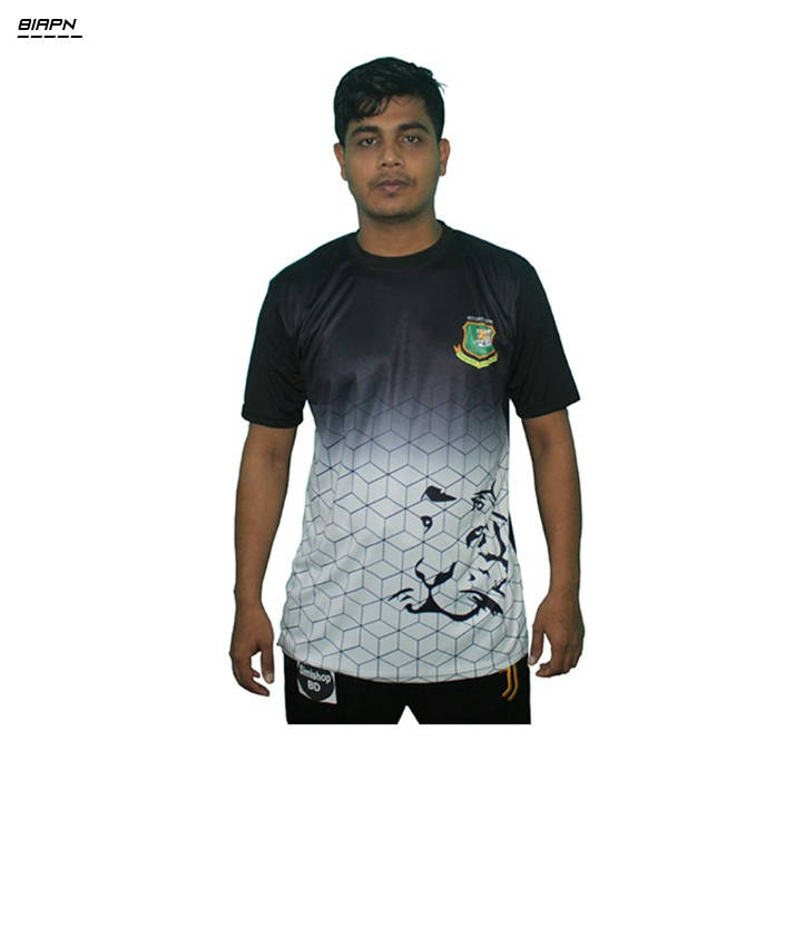 Bponi | Polyester Short Sleeve Bangladesh Jersey for Men