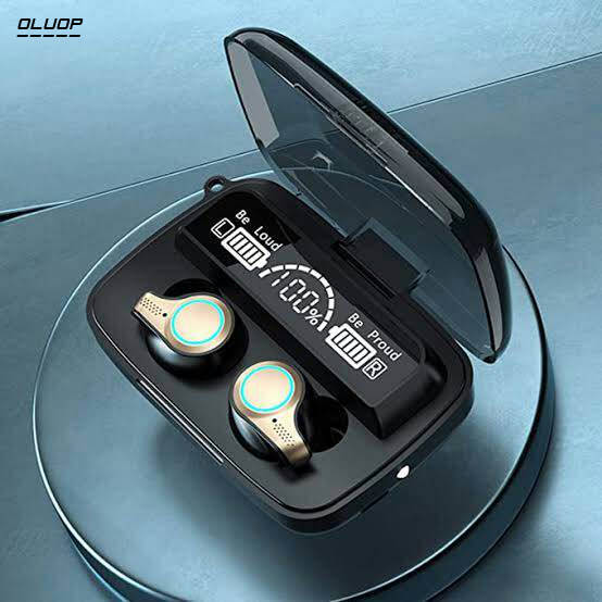 Bponi | M18 TWS IN-EAR WIRELESS BLUETOOTH HEADSET NOISE REDUCTION STEREO SPORT EARBUD