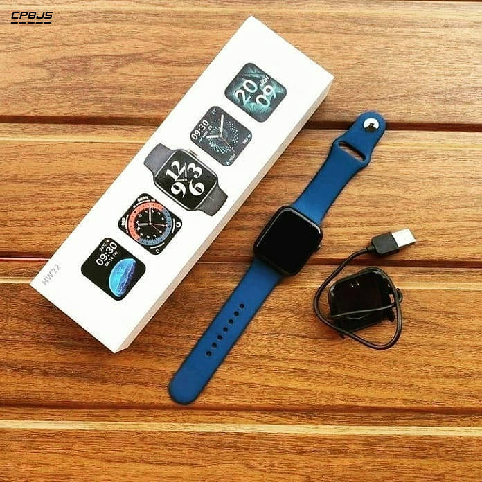 Bponi | Blue Color HW12 Smartwatch With Bluetooth call Music and Heart Rate Monitoring