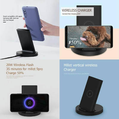 Bponi | Xiaomi 20w Vertical Wireless Charger With Stand
