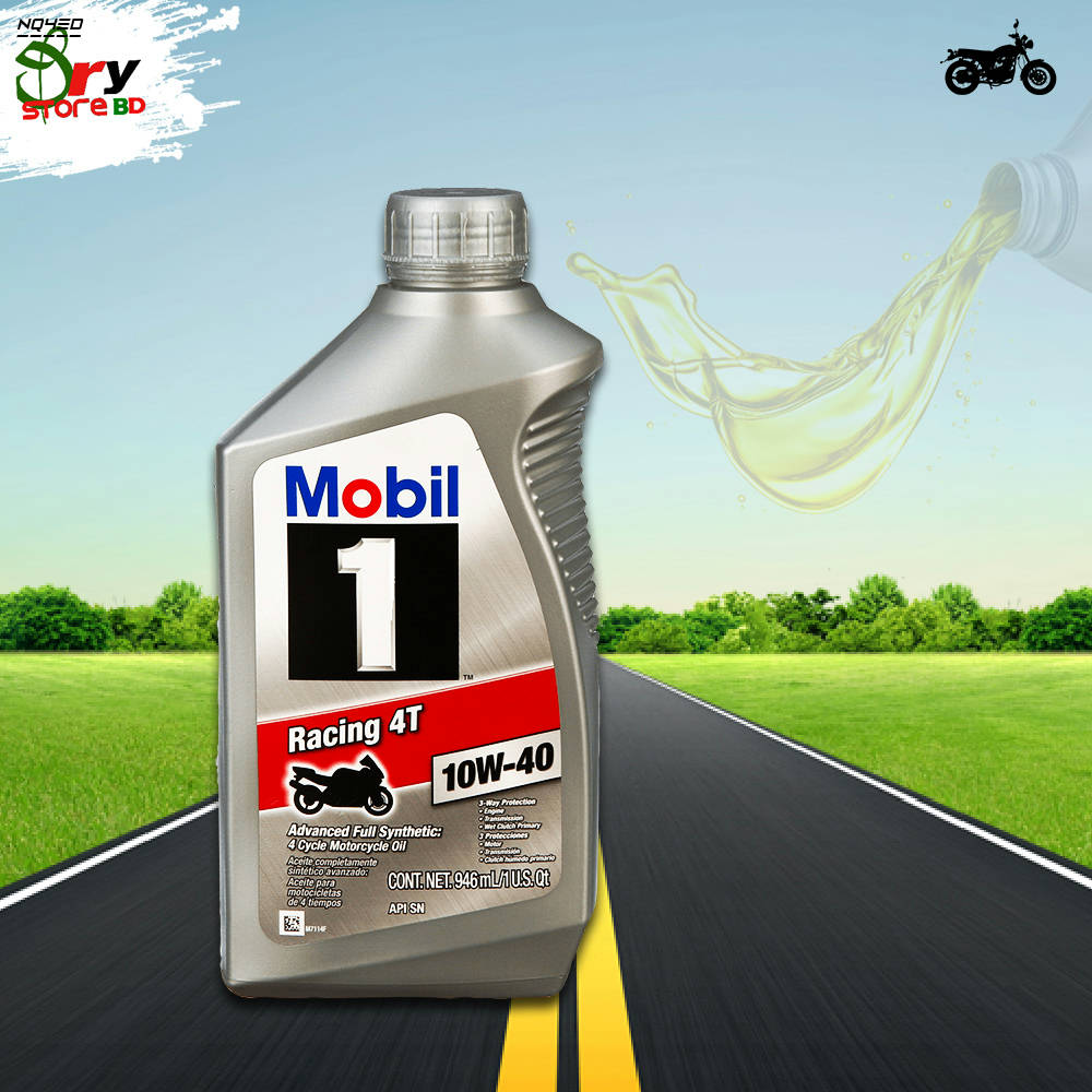 Bponi   Mobil 1 Racing™ 4T 10W-40 Full Synthetic