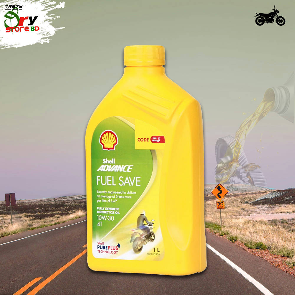 Bponi   SHELL ADVANCE FUEL SAVE 10W-30 FULL SYNTHETIC