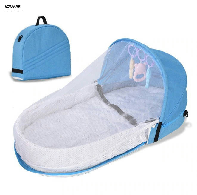 Bponi | Travel Baby Bed with Mosquito Net