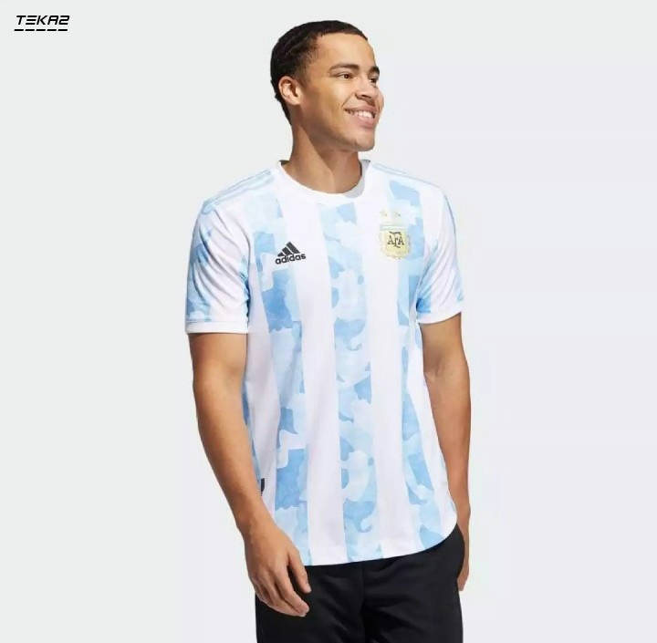 Bponi | Argentina Home Football Tshirt Jersey Copa America 2021 Premium New Imported Jersey