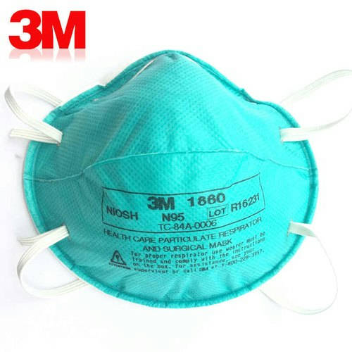 Bponi | 3M 1860 N95 Particulate Respirator Mask (1box to 20 PCS) USA