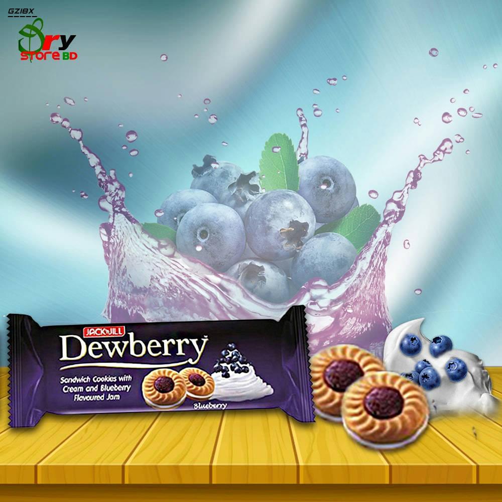 Bponi | Dewberry Sandwich Cookies Roll (Blueberry)