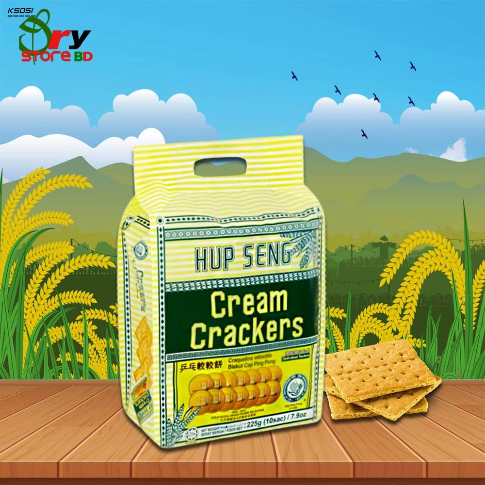 Bponi | Hup Seng Cream Crackers