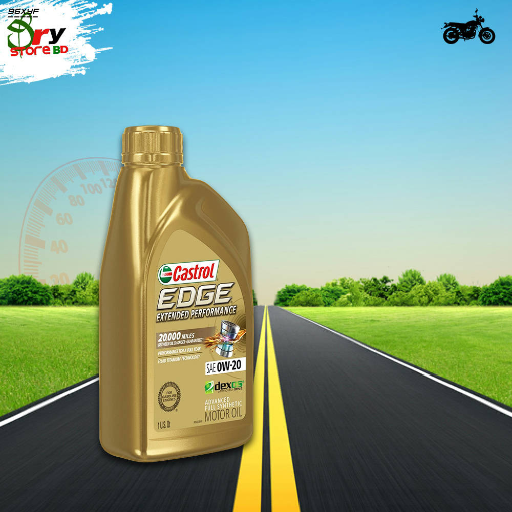 Bponi   CASTROL EDGE EXTENDED PERFORMANCE 0W-20 FULL SYNTHETIC