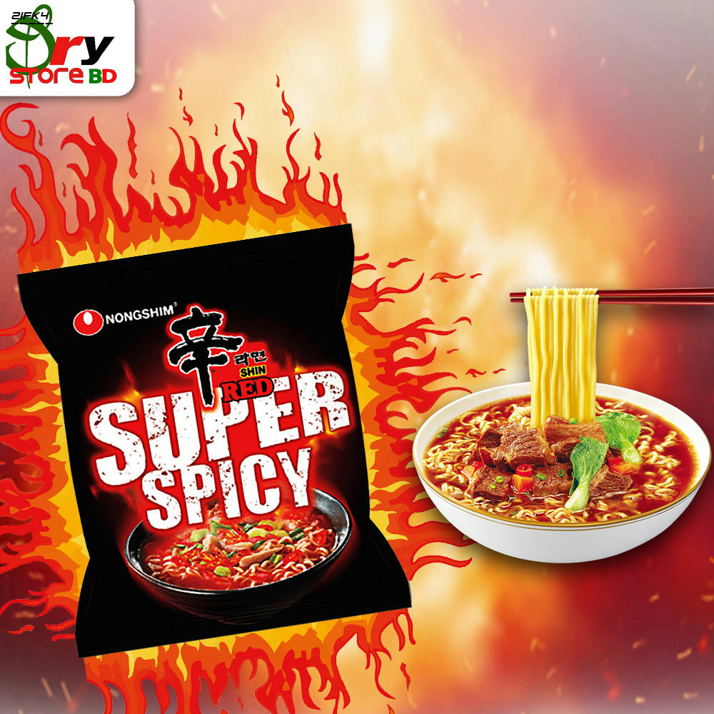 Bponi | NongShim Red Super Spicy Noodles
