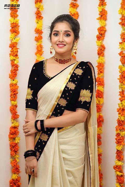 Bponi | Indian Zarna Silk Saree