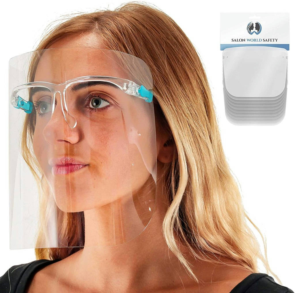 Bponi - Face Shield with Glasses Frame