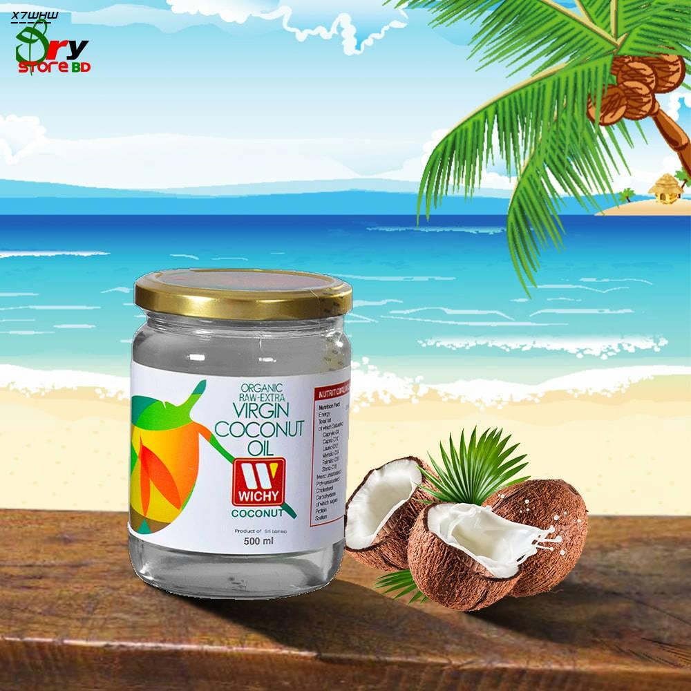Bponi | Wichy Organic Raw Extra Virgin Coconut Oil
