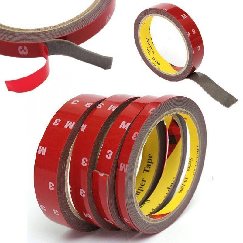 Bponi | Double Sided Super Sticky Tape Roll For Vehicle 8mm