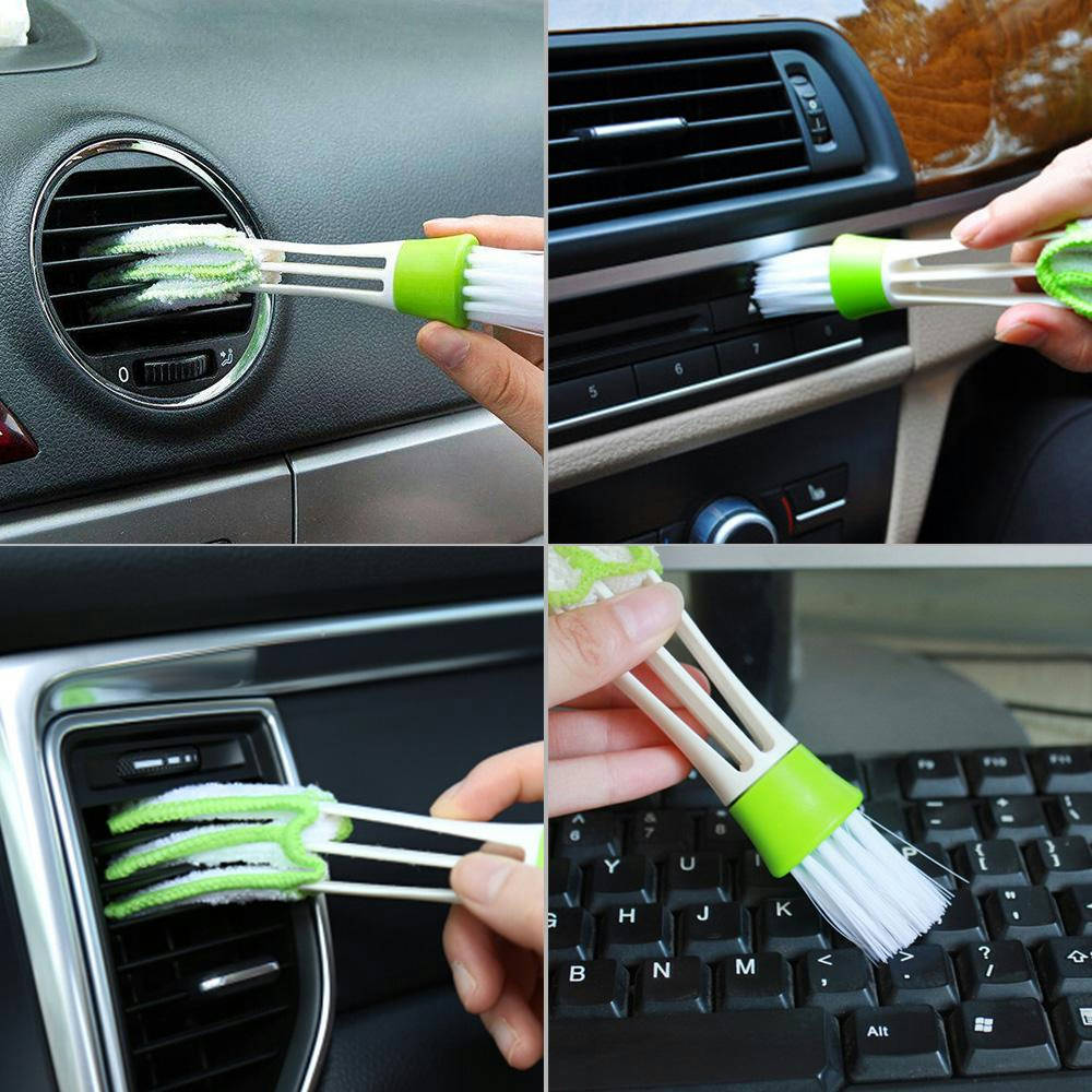 Bponi | Car Air Conditioner AC Dust Collector Cleaner Brush Computer Duster Cleaning