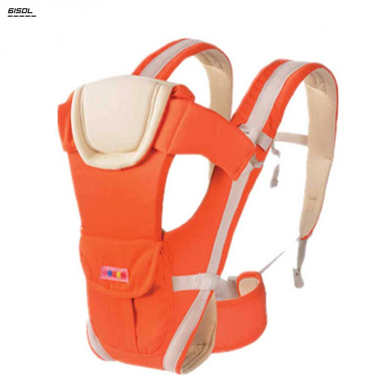 Bponi | Baby Carrier Baby Carry Bag Best Quality Baby Hip-seat Carrier Orange Color