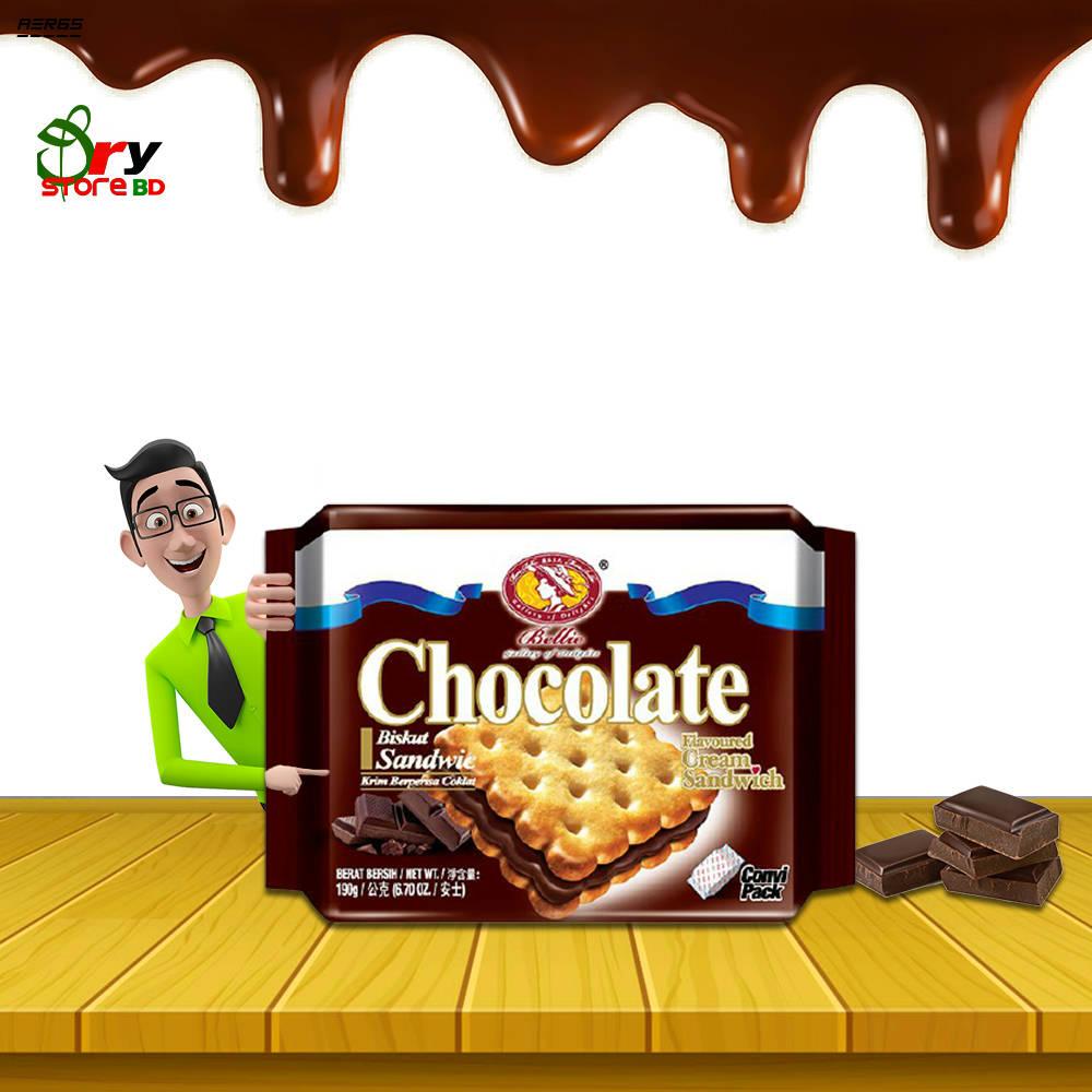Bponi | Bellie Cream Sandwich Chocolate Biscuit