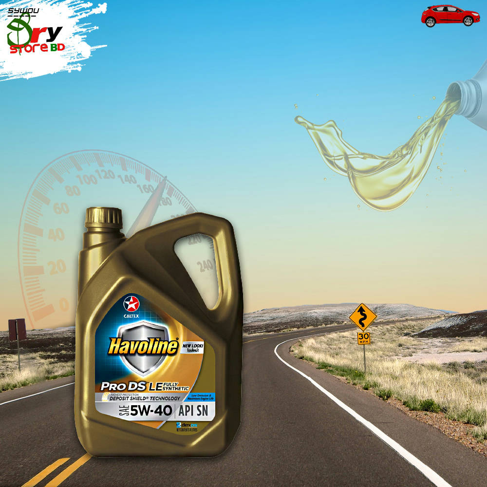 Bponi | CALTEX HAVOLINE PRO DS LE 5W-40 FULL SYNTHETIC