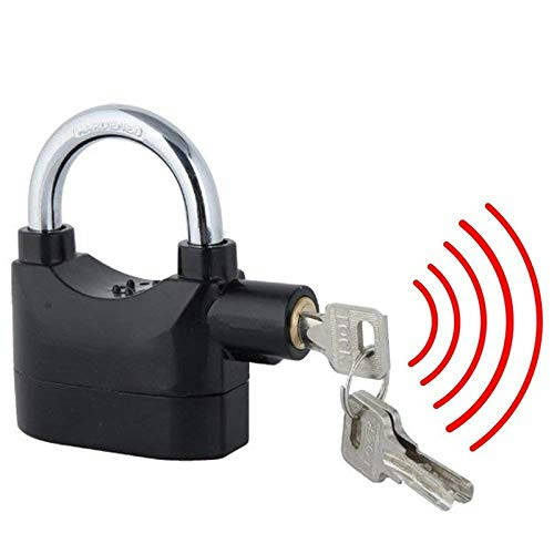 Siren Home Alarm Lock, For Security, Stainless Steel-1137 - Bponi