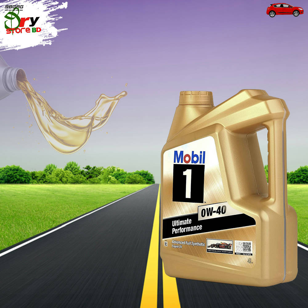 Bponi | MOBIL1 0W-40 FULL SYNTHETIC