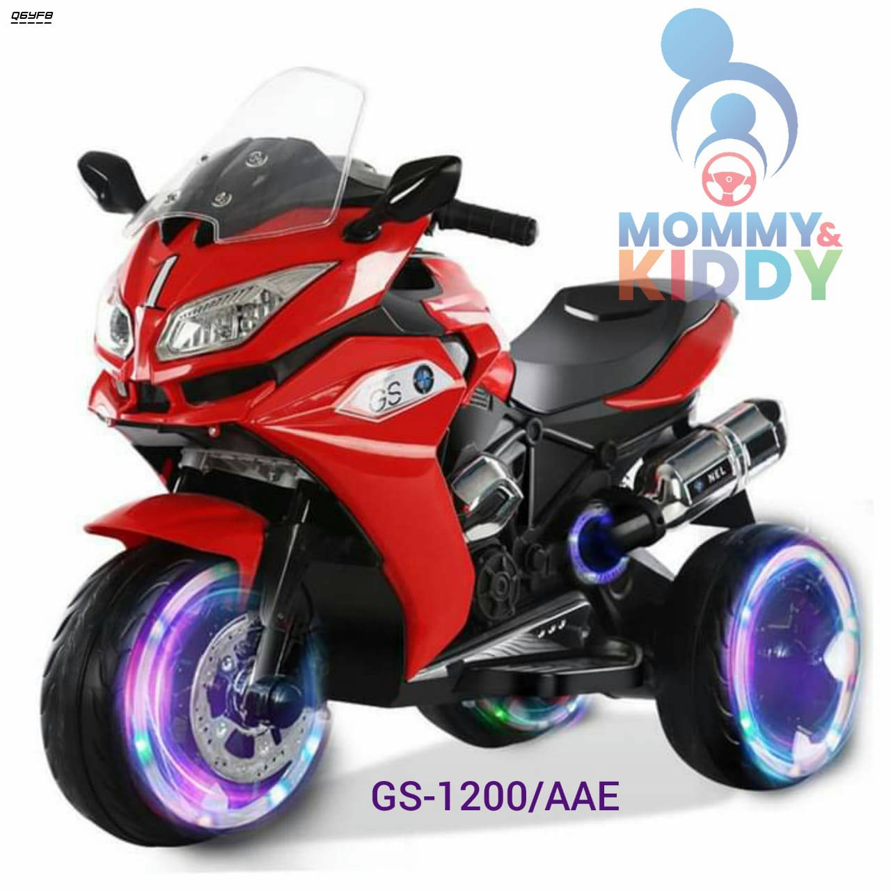 Bponi    Electric  GS-1200/AAE  Pedal Motorcycle For Children