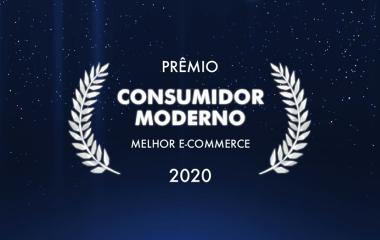 Prêmio Consumidor Moderno - Melhor E-Commerce.