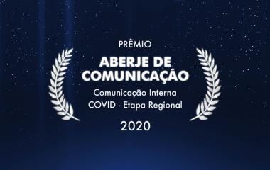 Prêmio Abreje de Comunicação - Comunicação Interna COVID - Etapa Regional