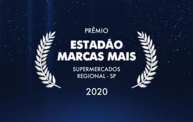 Prêmio Estadão Marcas Mais - Supermercados Regional - SP.