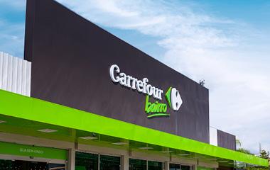 Fachada do Carrefour Bairro.