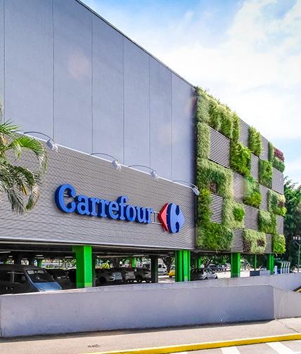 Fachada do Carrefour Hipermercado Limão.